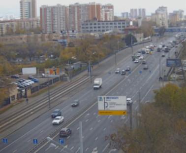 Москва. Веб камера онлайн шоссе Энтузиастов