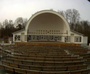 Парк «Сокольники». Веб камера онлайн симфоническая веранда