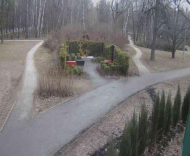 Парк «Сокольники». Веб камера онлайн скульптура «Фея бухгалтера»