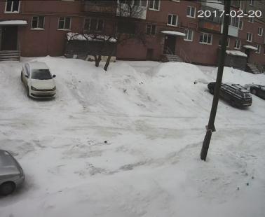 Кушва. Веб камера онлайн двор ул. Красноармейская 2
