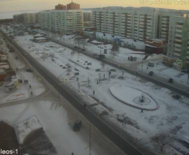 Братск. Веб камера онлайн улица Советская
