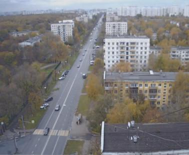 Веб камера Улица Юных Ленинцев