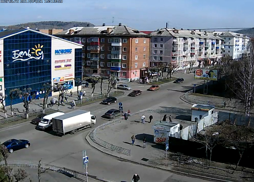 Междуреченск. Веб камера онлайн Бель-Су