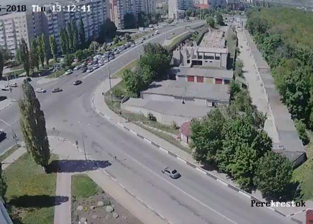 Белгород. Веб камера онлайн перекресток Губкина — Архиерейская
