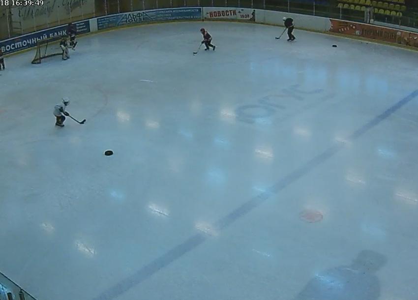 Междуреченск. Веб камера онлайн ледовый дворец «Кристалл» №2
