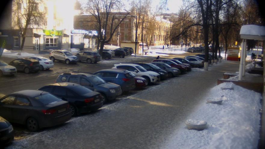 Брянск. Веб камера онлайн ул.Институтская