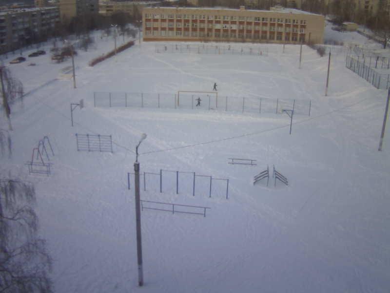 Миасс. Веб камера онлайн стадион школы №18