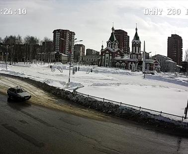 Глазов. Веб камера онлайн площадь Свободы