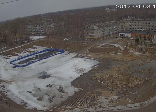 Бежецк. Веб камера онлайн песочная яма