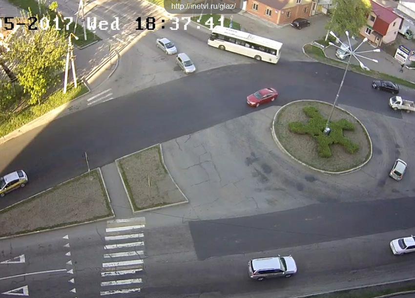 Уссурийск. Веб камера онлайн Агеева 52