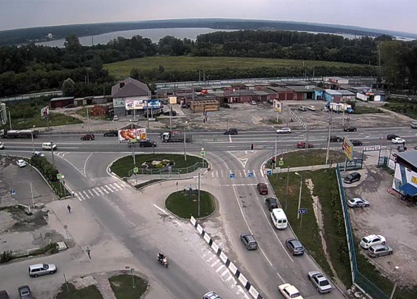 Бердск. Веб камера онлайн ГИБДД кольцо