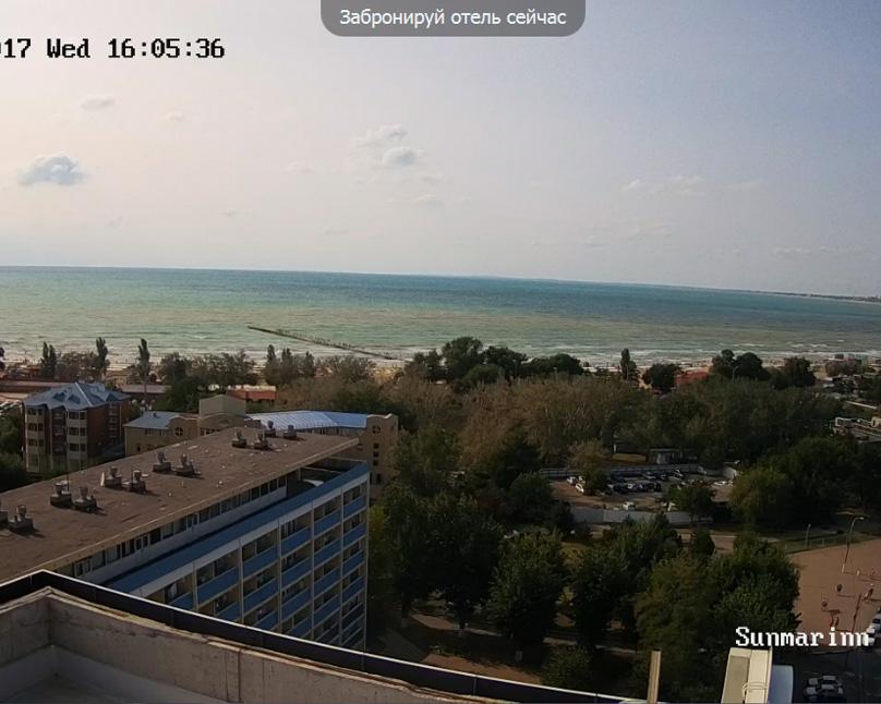Анапа, Веб камера онлайн Sunmarinn Resort hotel вид на море