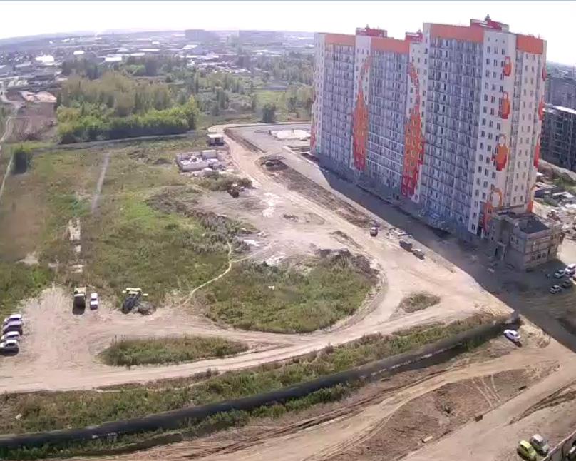 Барнаул. Веб камера онлайн ул. Балтийская