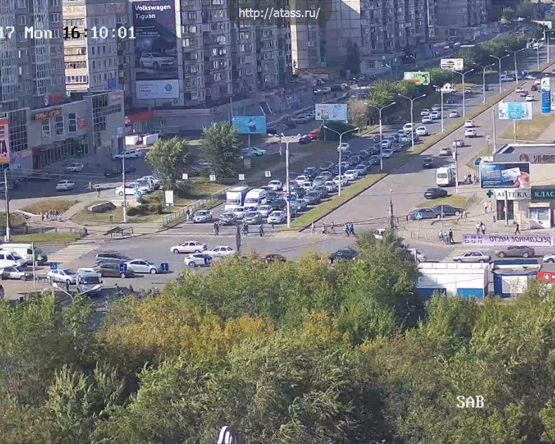 Магнитогорск. Веб камера онлайн перекресток Ленина — Грязнова