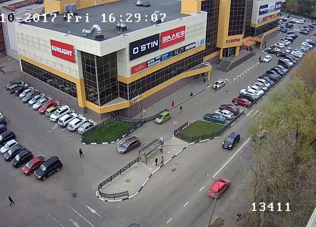 Подольск. Веб камера онлайн ТЦ «Галерея»