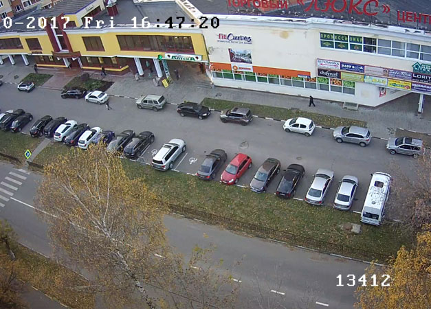 Подольск. Веб камера онлайн ТЦ «Люкс»