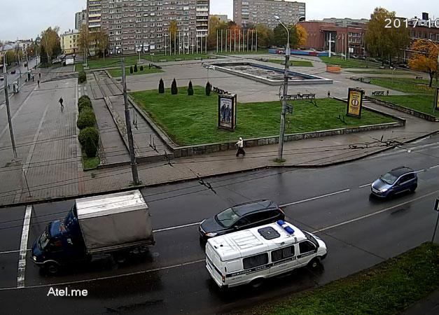 Рыбинск. Веб камера онлайн площадь имени П.Ф. Дерунова