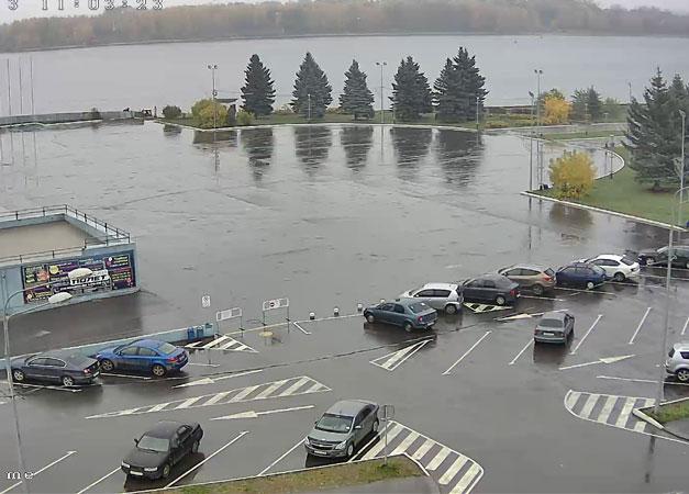 Рыбинск. Веб камера онлайн площадь Д/C «Полет»