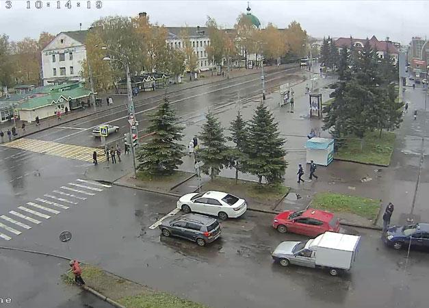 Рыбинск. Веб камера онлайн универмаг «Юбилейный»