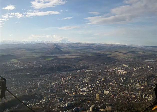 Пятигорск. Веб камера онлайн вид с горы Машук