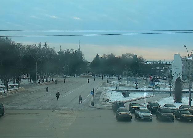 Вологда. Веб камера онлайн площадь Революции