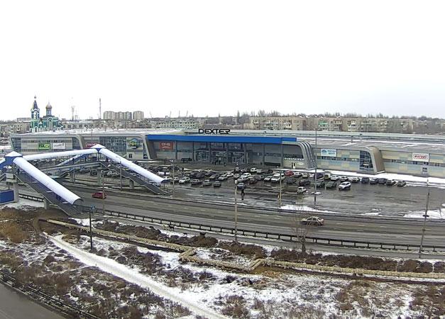 Астрахань. Веб камера онлайн ТРЦ DEXTER