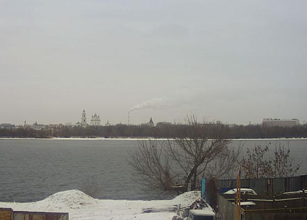 Астрахань. Веб камера онлайн река Волга