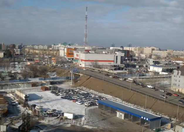 Астрахань. Веб камера онлайн улица Генерала Герасименко