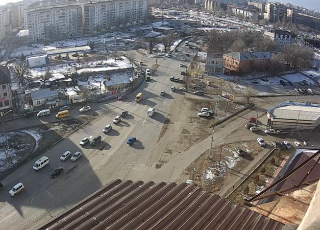 Астрахань. Веб камера онлайн улица Перевозная камера №1
