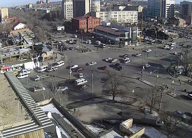 Астрахань. Веб камера онлайн улица Савушкина