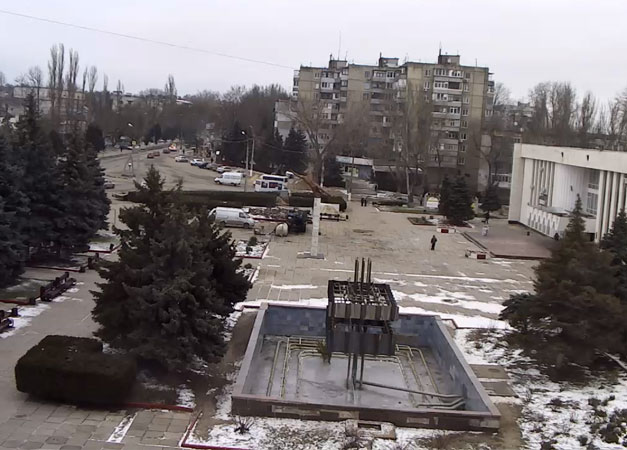 Керчь. Веб камера онлайн ДК «Корабел»