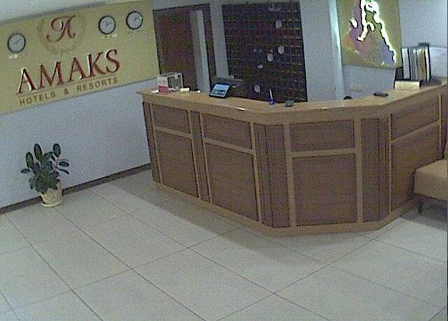 Новый Уренгой. Веб камера онлайн отель АМАКС Полярная звезда