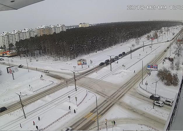 Ангарск. Веб камера онлайн Ленинградский проспект камера №3