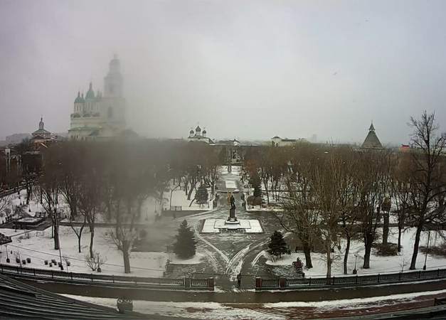 Астрахань. Веб камера онлайн Братский сад камера №2
