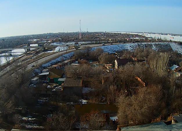 Астрахань. Веб камера онлайн обзорная камера №2