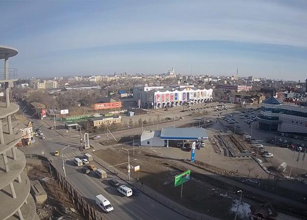 Астрахань. Веб камера онлайн обзорная камера №3