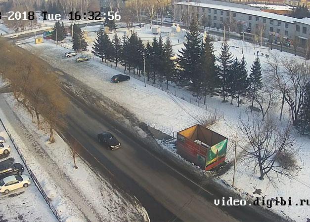 Бийск. Веб камера онлайн бизнес-центр «Оскар»
