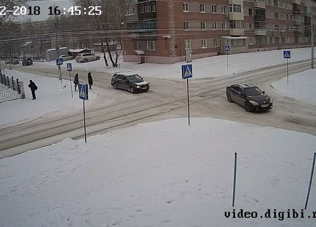 Бийск. Веб камера онлайн переулок Липового