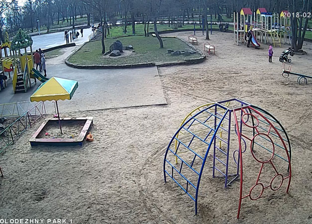 Керчь. Веб камера онлайн молодежный парк