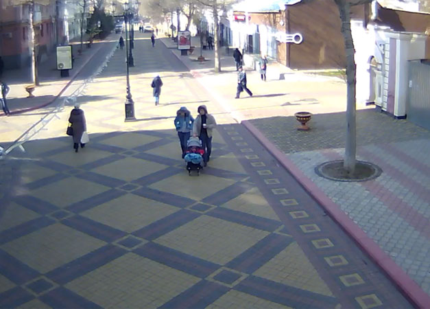 Керчь. Веб камера онлайн улица Ленина. Арка