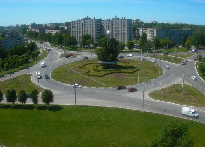 Новочебоксарск кольцо на ул. Советскаой